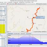 heskudi-gpx Screenshot unter Linux Beispiel 1
