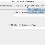 heskudi-gpx Screenshot unter Linux Beispiel 3