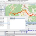 heskudi-gpx Screenshot unter Linux Beispiel 4