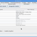 heskudi-gpx table configuration
